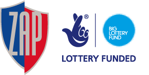 ZAP/BIG Lottery funded joint logo